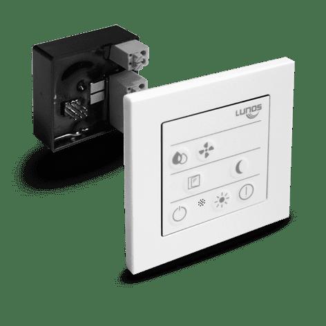 LUNOS 5/SC-FT Smart Comfort Steuerung für e², e go und RA15/60