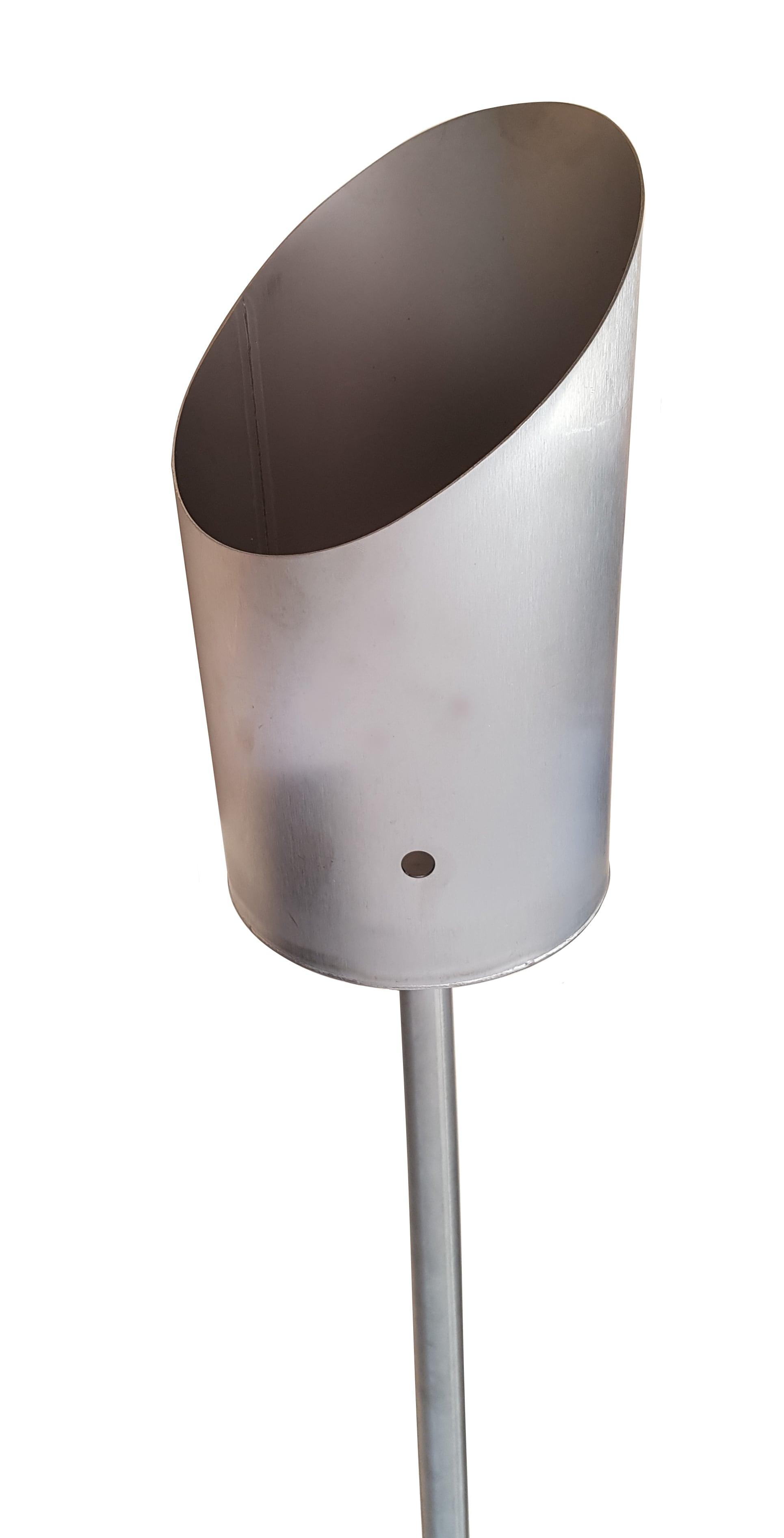 Gartenfackel Toilettenpapier-Fackel Klopapier