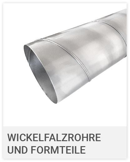 Wickelfalzrohre und Formteiloe
