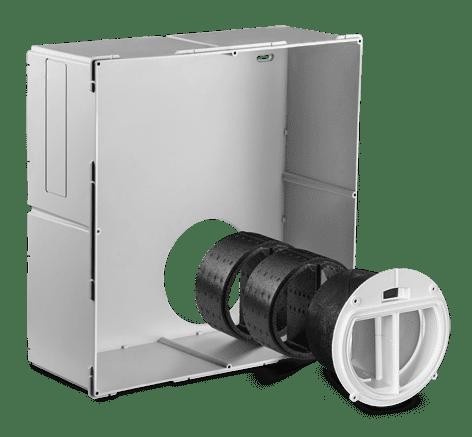 LUNOS 3/NXT Nexxt - Einbaugehäuse für den Aufputz-oder Unterputz-Einbau