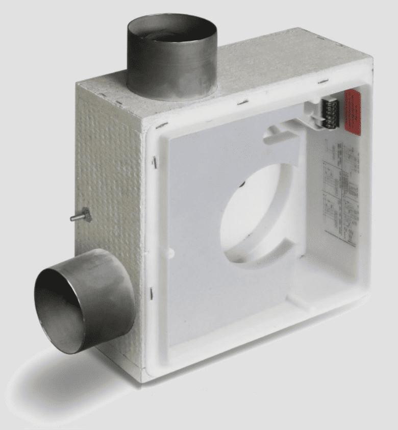LUNOS 3/UP-2BR Silvento 2-Raum Brandschutzgehäuse