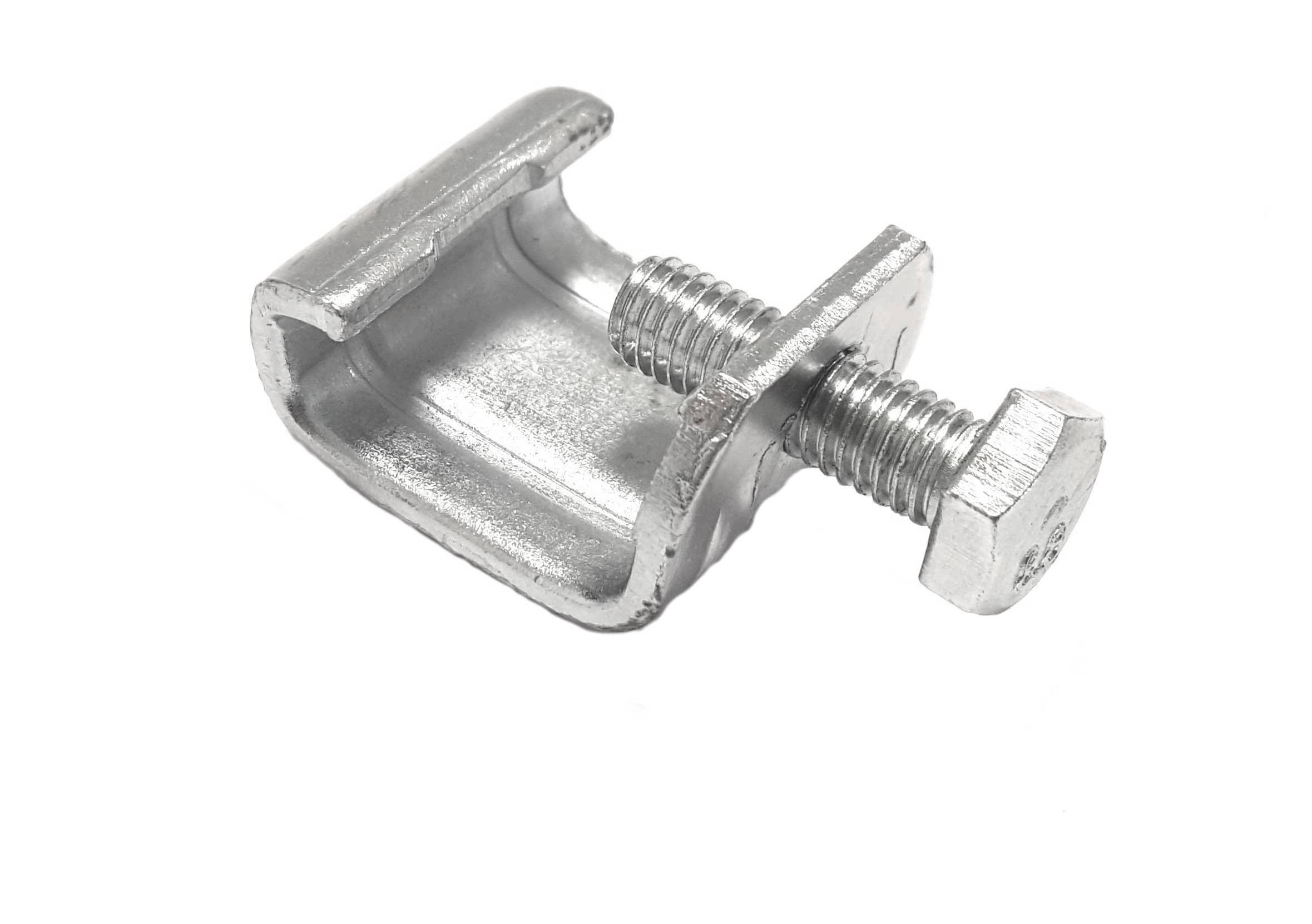 Kanalklammer Gewindebügel und Schraube