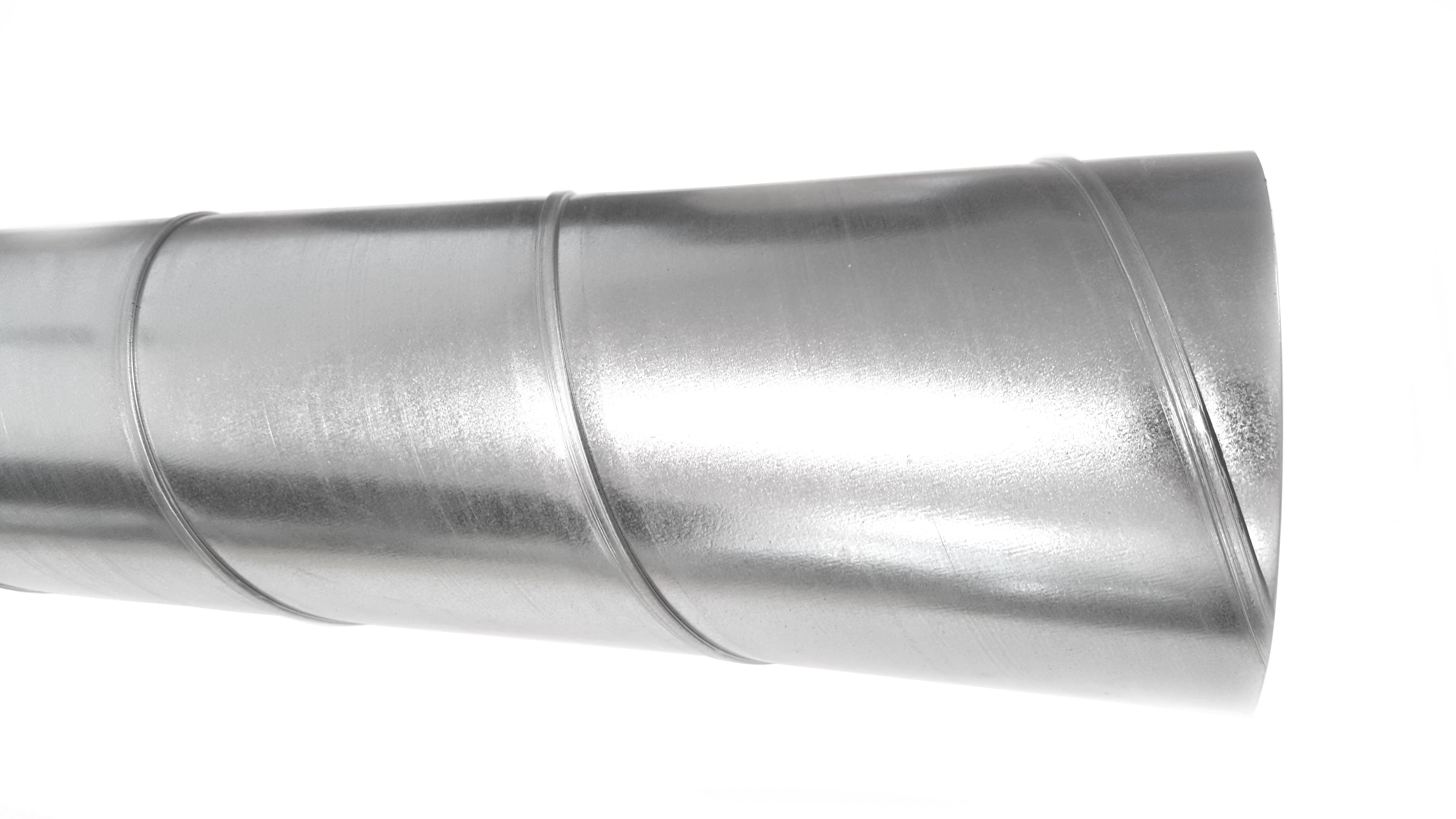 Wickelfalzrohr Ø 80 mm verzinkt