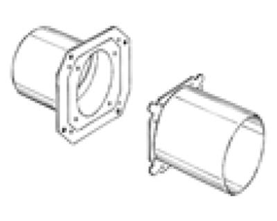LUNOS 8/BS Absperrvorrichtung Schachtwand inkl. Adapter
