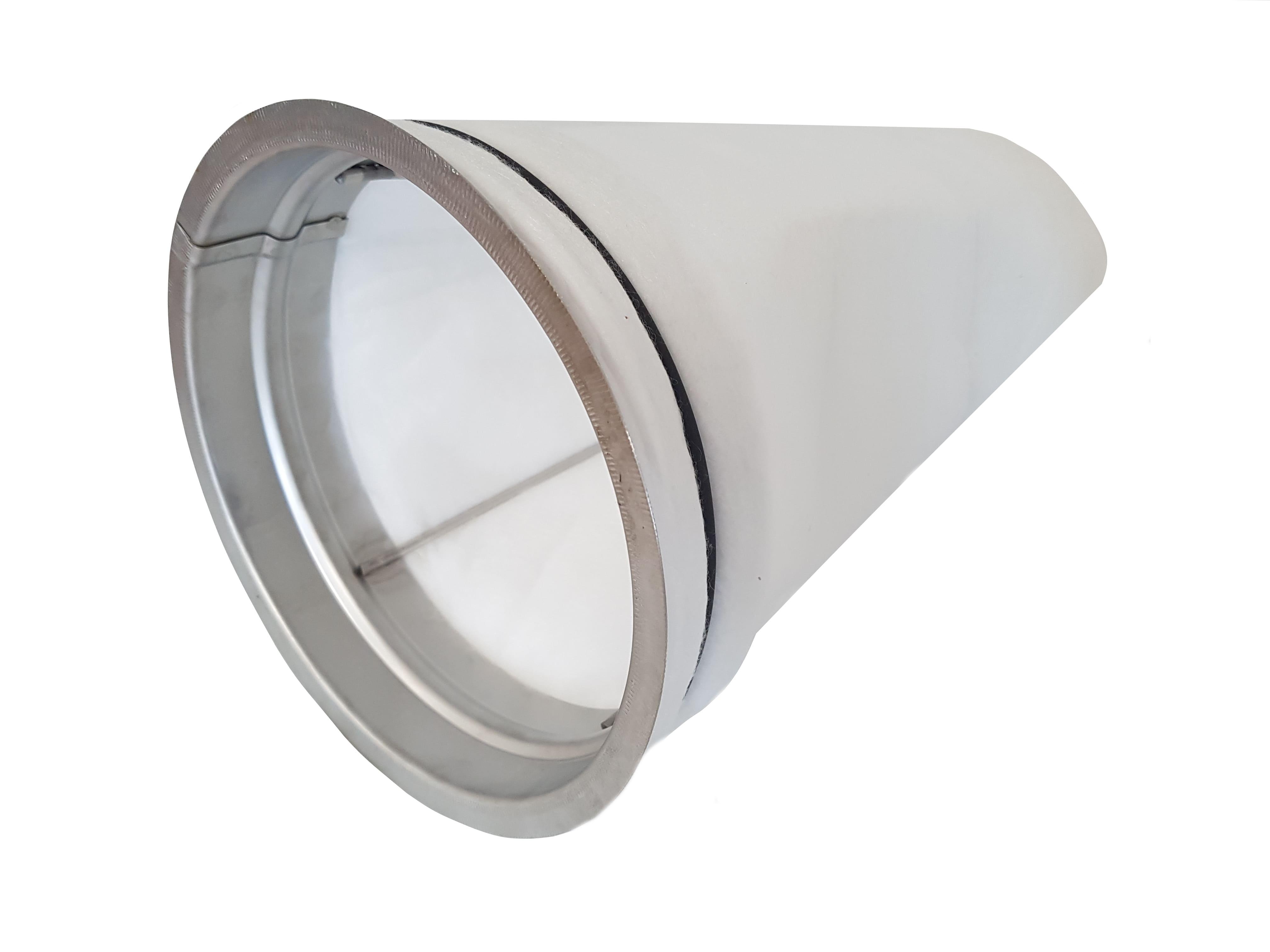 Filterkorb mit Kegelfilter für 2-teiligen Ansaugturm S315 aus Edelstahl