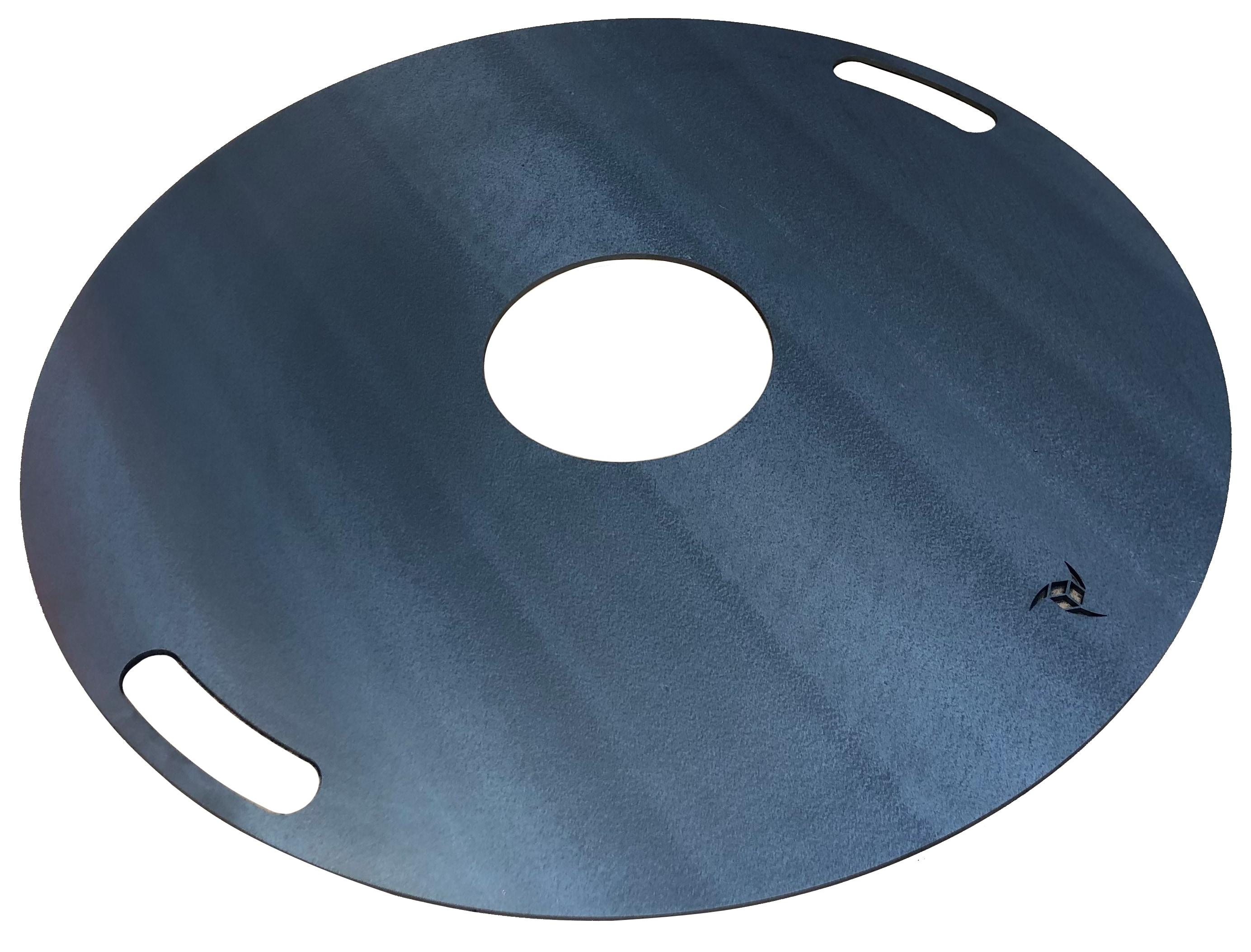 Feuerplatte / Plancha für Grilltonne. Ölfass und Feuerschale