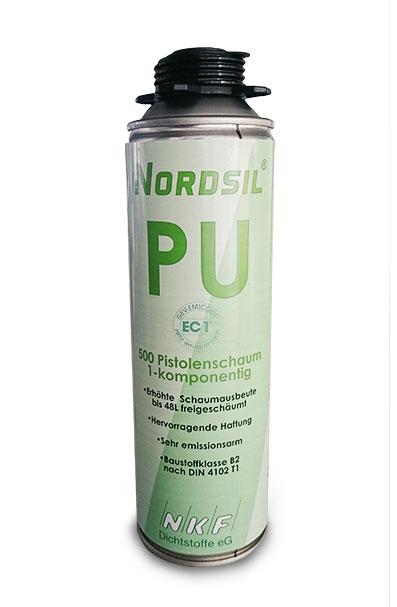 NORDSIL PU-Schaum / Pistolenschaum 500 ml Dose
