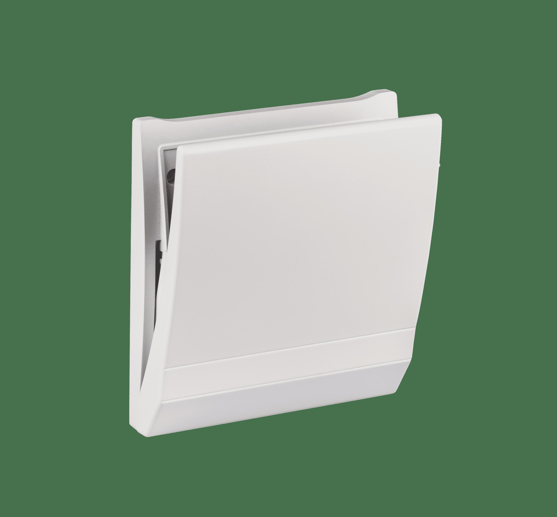LUNOS 9/IBK Komfort Innenblende Kunststoffdesign weiss