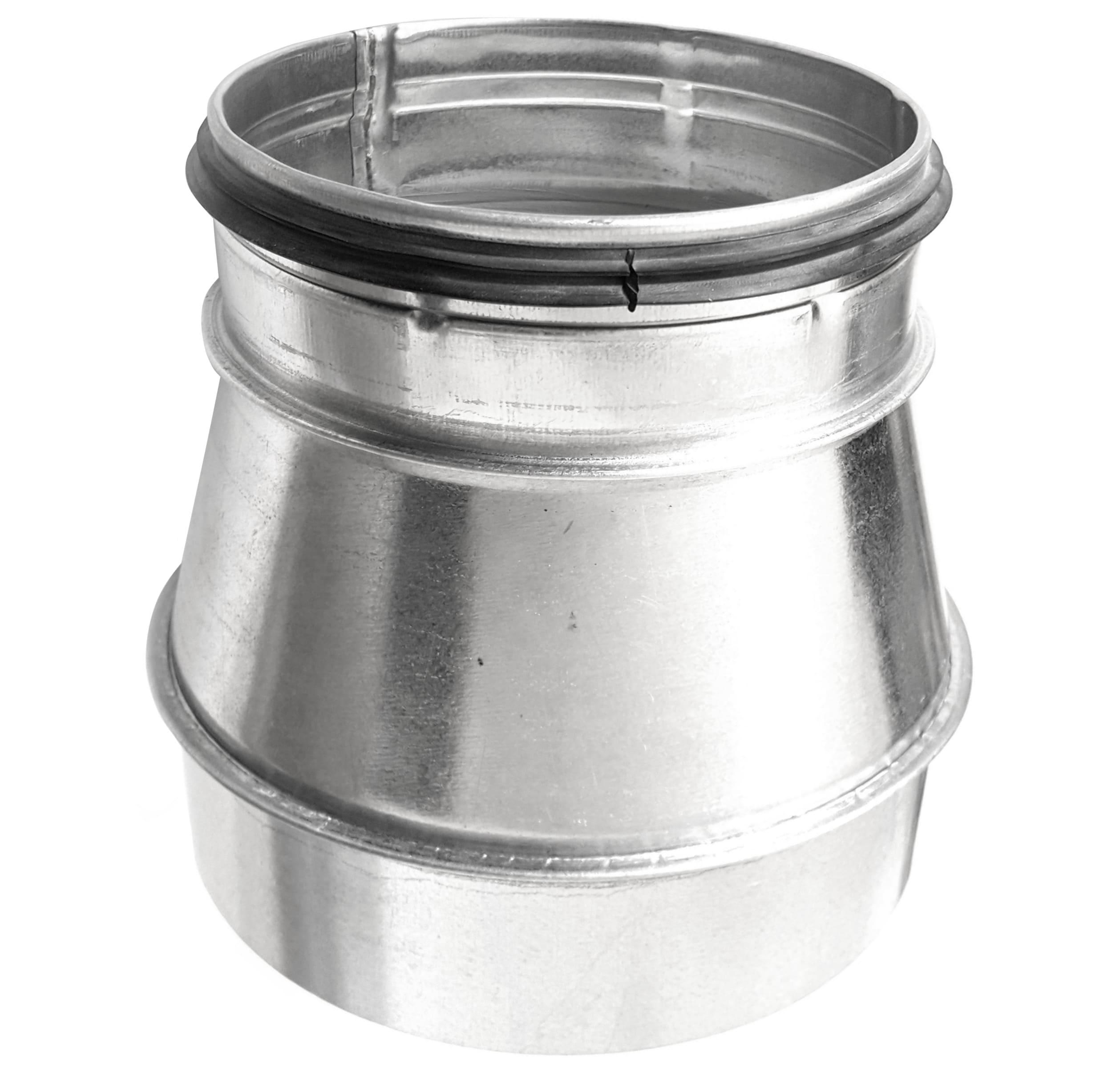 Reduzierung Muffe - Nippel für Formteile auf Wickelfalzrohr