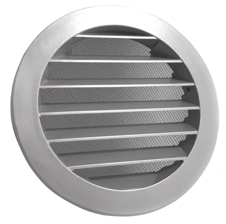 Aluminium Wetterschutzgitter 100 mm