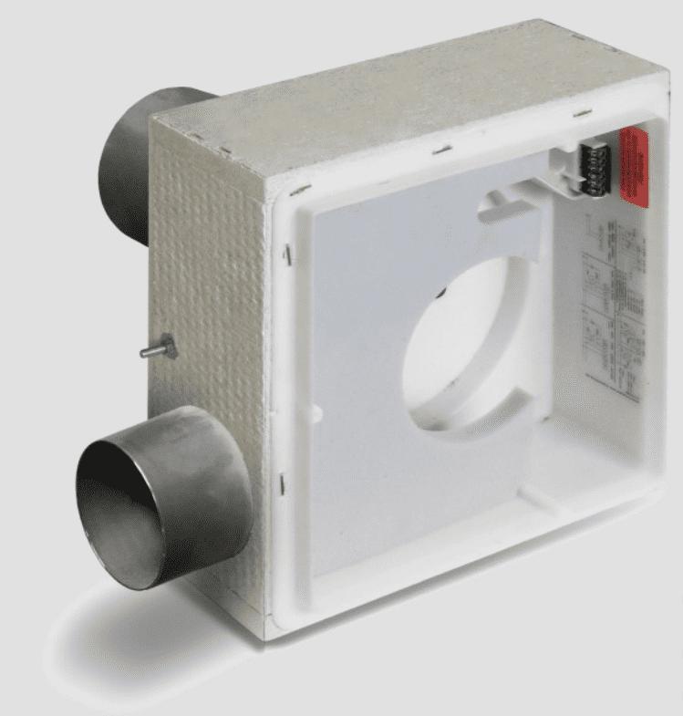 LUNOS 3/UP-2BA Silvento Zweiraumgehäuse mit Brandschutzvorrichtung