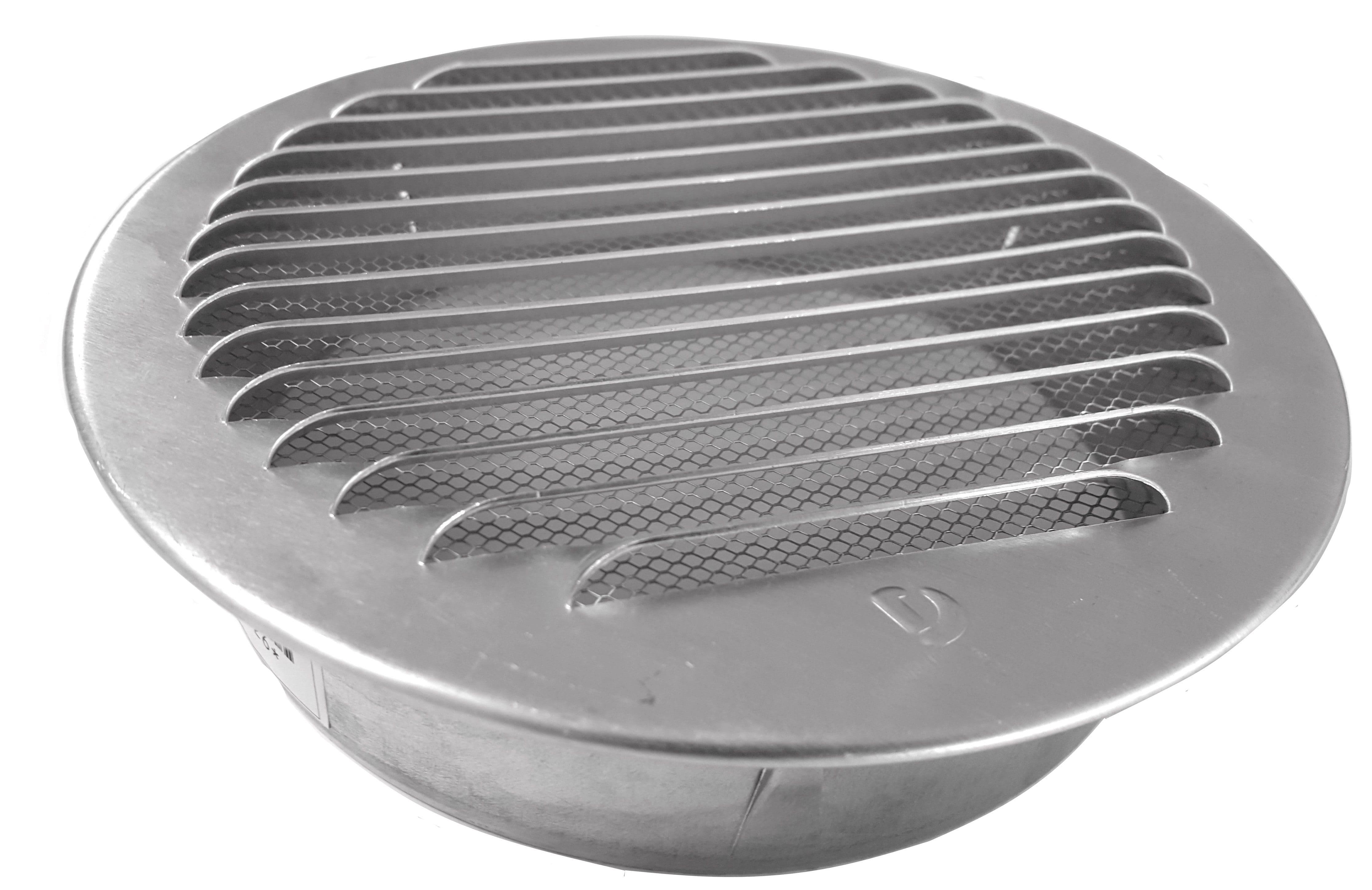 Lüftungsgitter aus Aluminium mit Fliegengitter