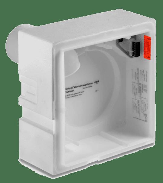 LUNOS 3/UP-AS10,7 Unterputzgehäuse für den Einbau in die Außenwand